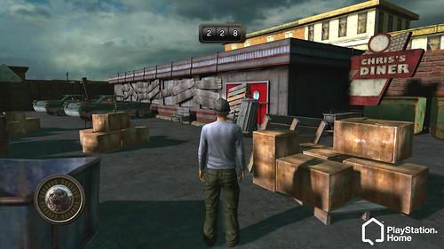 PS Home: Resistance 3 Diner Exit