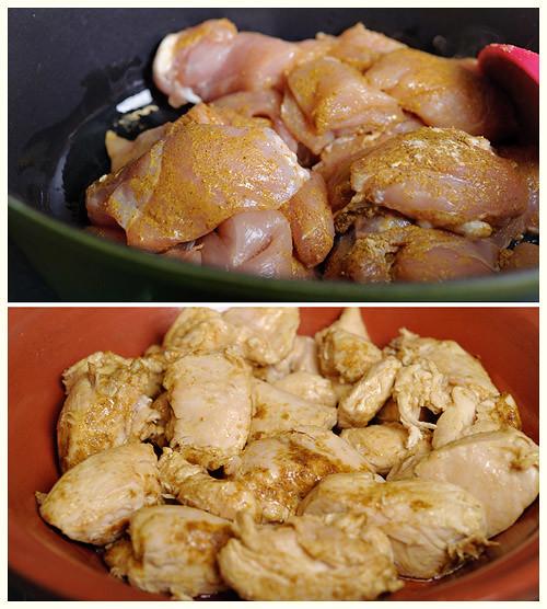 Chicken & Onion Tagine