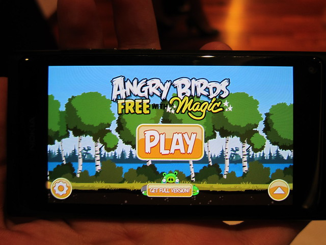 Angry Birds Magic (Exclusive For Nokia N9)