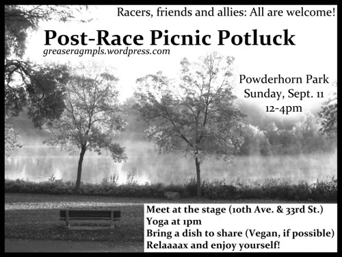Post-Race Picnic Potluck