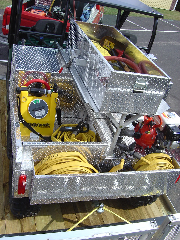 The QTAC 70EMSL ATV EMS firefighting skid unit is a lightweight versatile skid system for fire service and rescue personnel