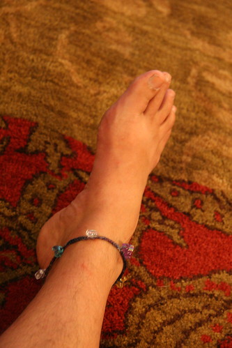 my ankle bracelet