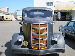 MACK Truck (bballchico) Tags: truck 1938 mack coe carshow hotrods goodguys goodguyspacificnorthwestnationals