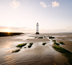. (mahonyweb) Tags: sunset lighthouse landscape wirral newbrighton merseyside tamron1024mm nikond7000