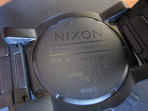 Nixon Magnacon SS Unit Time Teller Sept 2011 009