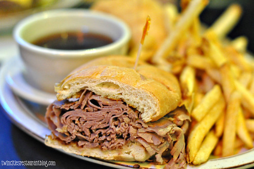 French Dip at Bunny's Bar & Grill ~ St Louis Park, MN