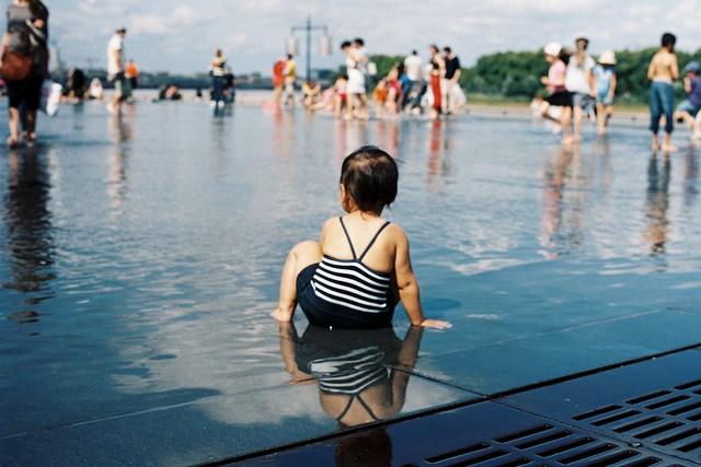 Baignade estival