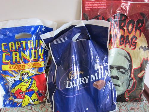 Show bags from school fun day