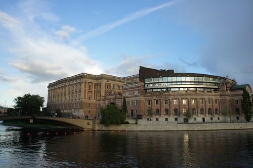 ストックホルムの国会議事堂