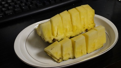 Fresh Pineapple Pieces