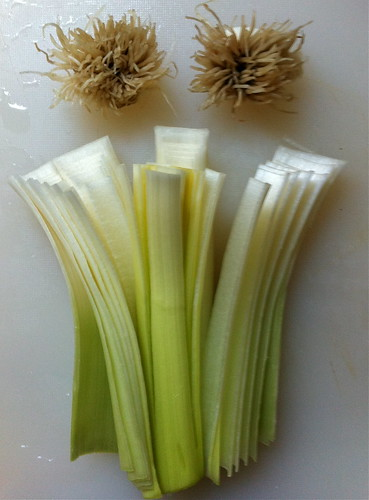 Deconstructed Leek