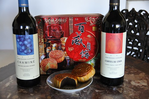 Wine and Mooncakes pairing