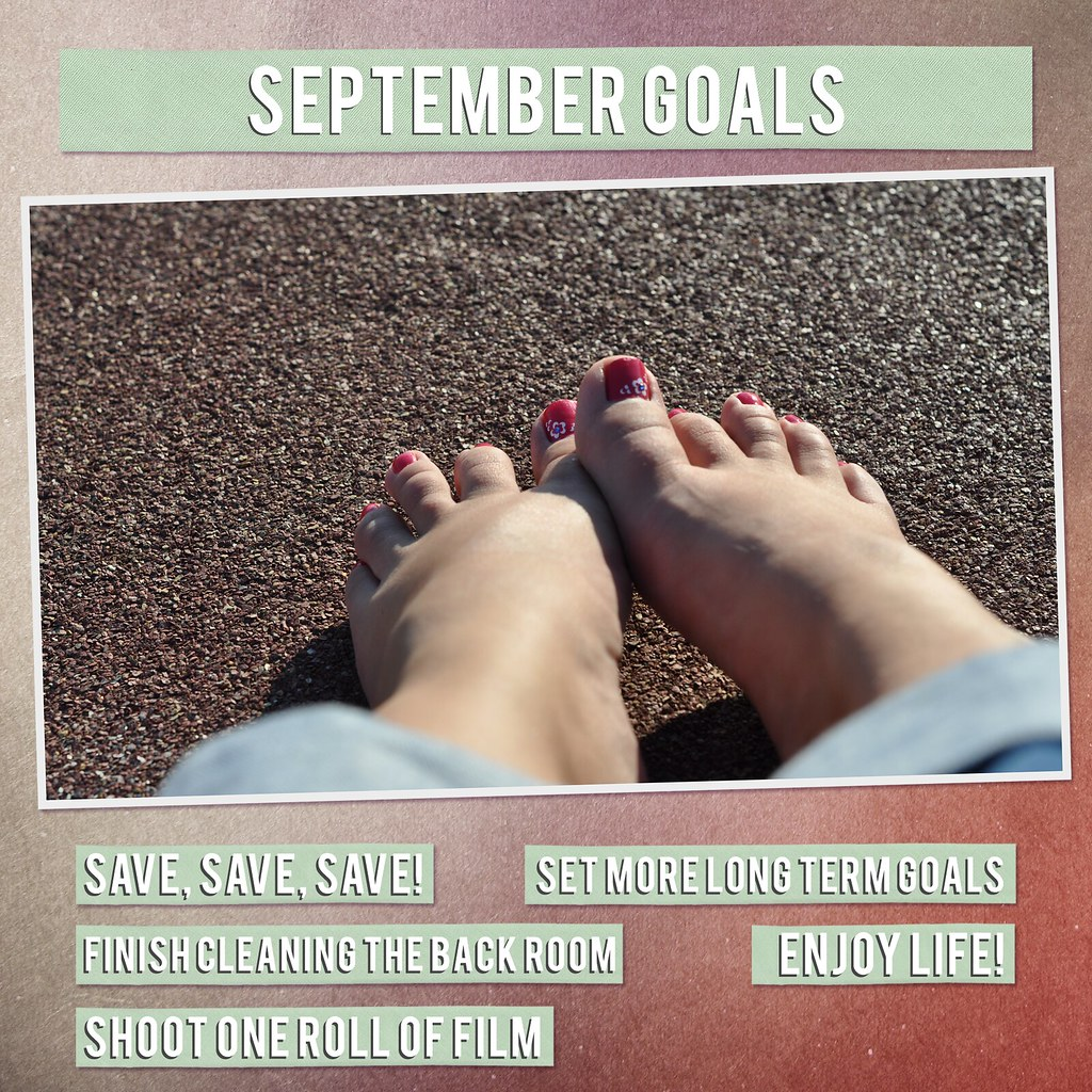 List 1 - Goals for the Month