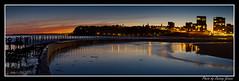 Canoe Pool - Panorama - 13-09-2011-01 (DoctorJ73) Tags: ocean sunset sun water pool canon newcastle eos james canoe chain baths 7d danny