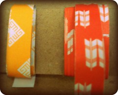 Origami paper tape