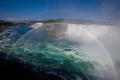 Niagara Falls with Double Rainbow! *explored* (Apricot Cafe) Tags: canonef1635mmf28liiusm platinumheartaward rainbow虹 rainbowbridgeレインボー・ブリッジ blinkagain niagarafallsナイアガラ・フォールズ ontarioオンタリオ州 canadaカナダ canadianfallsカナダ滝 maidofthemistboattour霧の乙女号 americanfallsアメリカ滝 img522525 queenvictoriaparkクィーン・ビクトリア公園