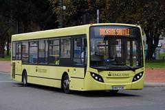 B3 GN07FDE Alexander Dennis Enviro 200 Dart, no longer in fish tank livery, Chatham (google_wayne) Tags: bus buses ferry coach kings national express coaches