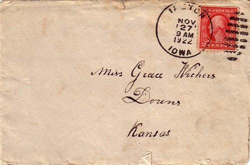 Laas Broersma Letter pg1