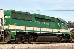 NS 4610... again (lewismarien) Tags: railroad train ns southern norfolksouthern southernrailway emd gp59 ns4610 bementillinois bementil