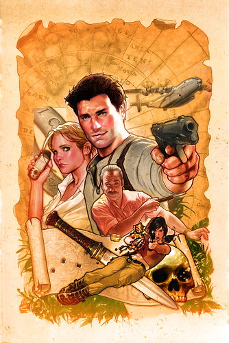 UNCHARTED: The Fourth Labyrinth comic by DC Comics