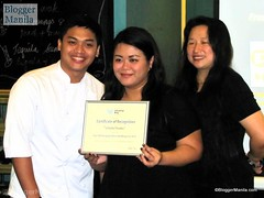 Fellow food blogger 'Certified Foodies' gets the top spot in EIB 2011