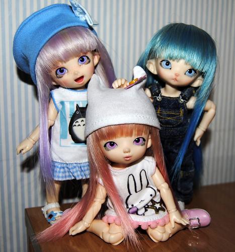 Sumomo, Ichigo, Suika