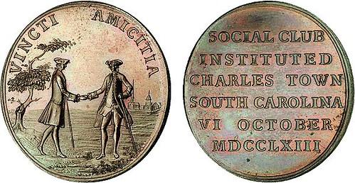 Charles Town Social Club Medal