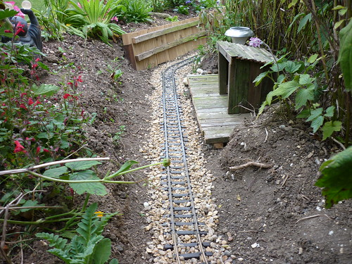 Garden Railway progress, 17 Sept 2011
