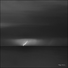 black storm (philippe MANGUIN photographies) Tags: ocean sea sky blackandwhite bw mer storm france beach nikon europe noiretblanc ciel plage orage vende clair d90 saintjeandemonts dblringexcellence