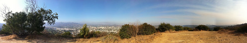 Panorama from top of Beacon Hill