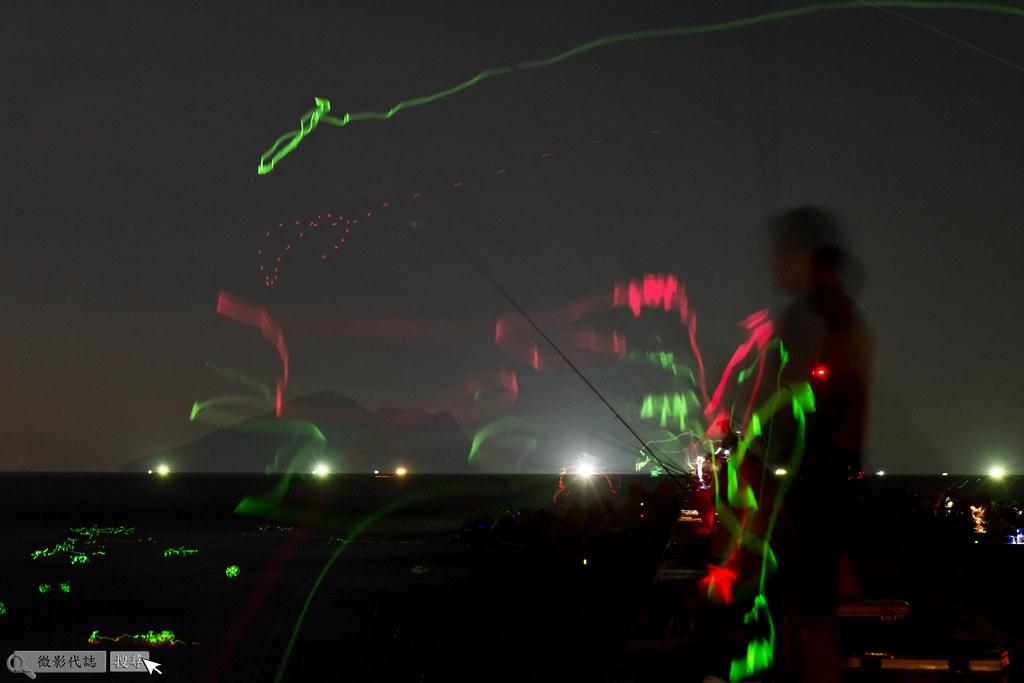 烏石港堤防夜拍 022