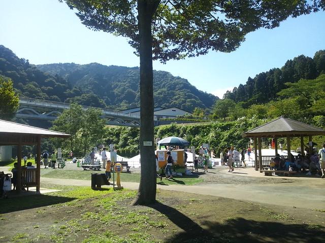 あいかわ公園のふわふわドームの写真