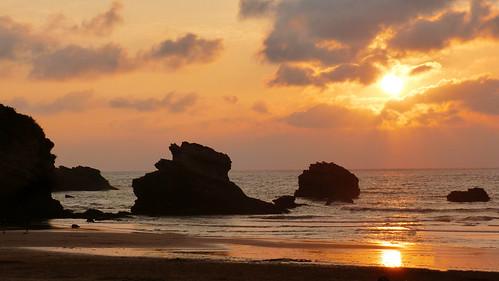 biarritz sunset 1
