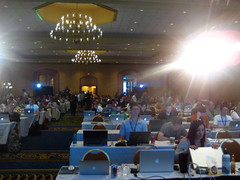 The view from the stage