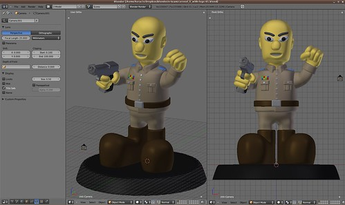 W.I.P. - Coronel Li, versión cartoon