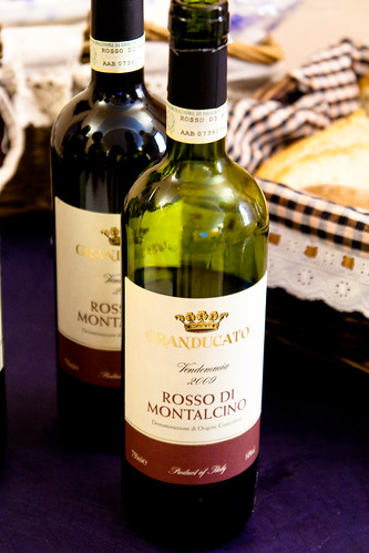 Wine at Consorzio Agrario di Siena