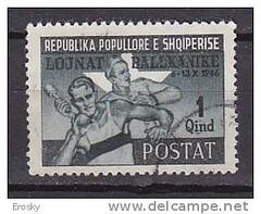 Lojnat (gegrisht) [apo lojrat (toskrisht)] balkanike, tetor 1946. Jeux balkaniques, octobre 1946. Balkanic games, October 1946. Stamp from Albania. (Only Tradition) Tags: al albania filatelia albanien shqiperi shqiperia albanija albanie shqip shqipri ppsh shqipria filateli shqipe arnavutluk hcpa philatlie albani   gjuha   rpsh  rpssh       albnija