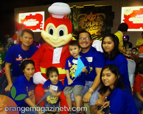 family Picture with Jollibee