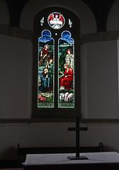 Wallingford, Oxfordshire, St Peter's. (CCT) (Tudor Barlow) Tags: summer england churches stainedglass flickrmeet oxfordshire wallingford cct parishchurch morrisco tamron1750 churchesconservationtrust oldberkshire jhdearle