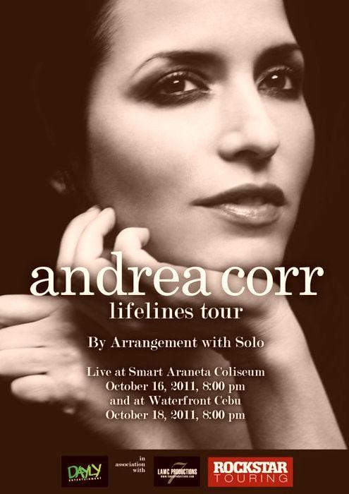 Andrea Corr Lifeline Tour