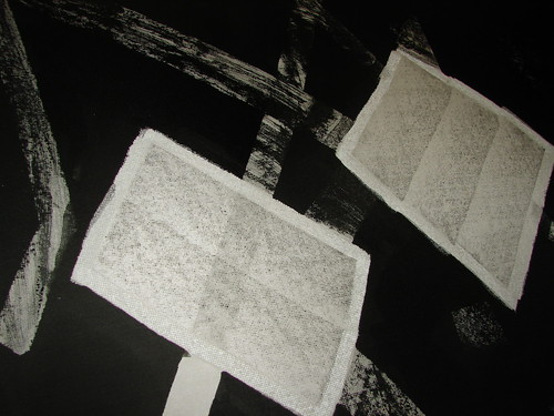 Silk painting / Pintura em seda by Atelier Mônica de Godoi