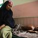 Malnourished Child Awaits Treatment at Mogadishu Hospital