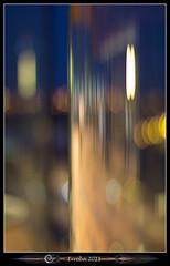Mas - Curved Glass Bokeh (Erroba) Tags: glass architecture night clouds canon reflections 50mm lights mas belgium belgique bokeh f14 curves belgi antwerp curved erlend antwerpen anvers 60d museumaandestroom erroba robaye