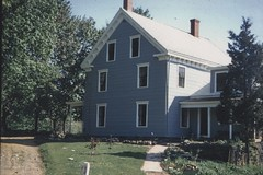 1955 - 1957: Looking north to the house