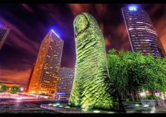 ☞ Hulk ☜ (Vincent.RCT Photographies) Tags: city light paris france night la nikon niceshot tamron nuit hdr défense 1024 d7k d7000 mygearandme haaghun
