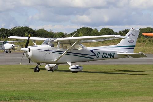 G-DUNK- Cessna 182_  Dunkswell