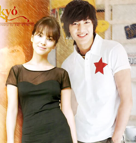 lee min ho amor song hyo kyo