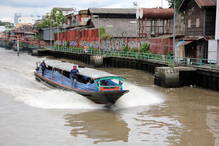 Boat Ferry on Khlong Saen Saeb