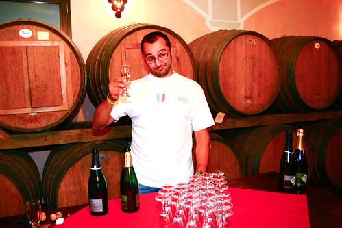 Wine tasting at Azienda Agricola Il Ciliegio in Tuscany