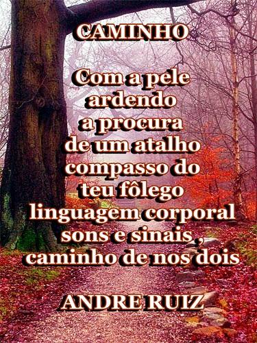CAMINHO by ruizpoeta@me.com
